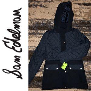 NWT gorgeous Sam Edelman winter coat jacket Med.